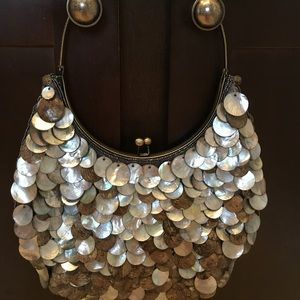 Gorgeous Mother of Pearl Shell Purse - Chico's
